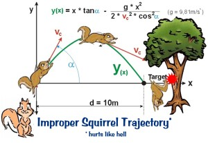 improper squirrel theory